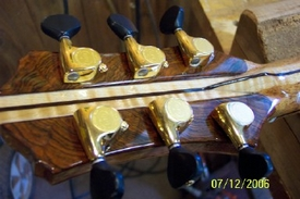 Kronbauer Brazilian Rosewood/Maple/Mahogany/Ebony Neck and Headstock Veneer